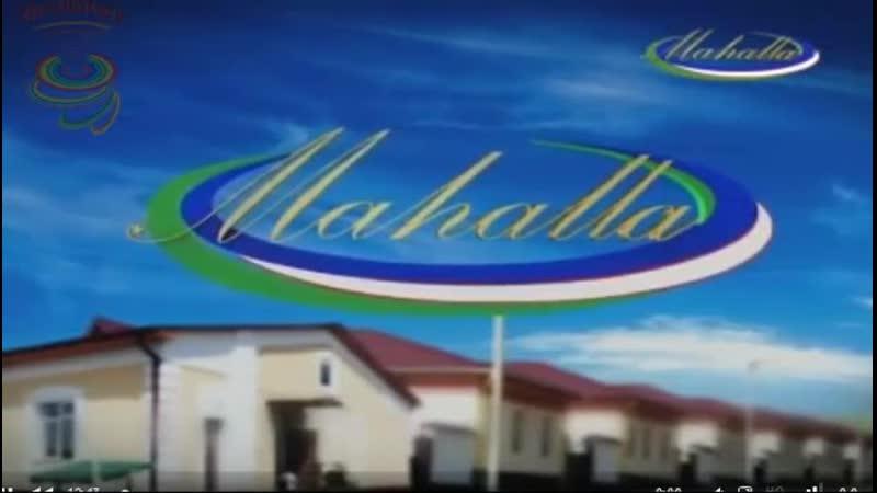 Начало вещания канала Mahalla (Узбекистан). 4.4.2015