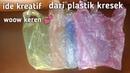 Ide kreatif dari plastik kresek best idea from plastic bag