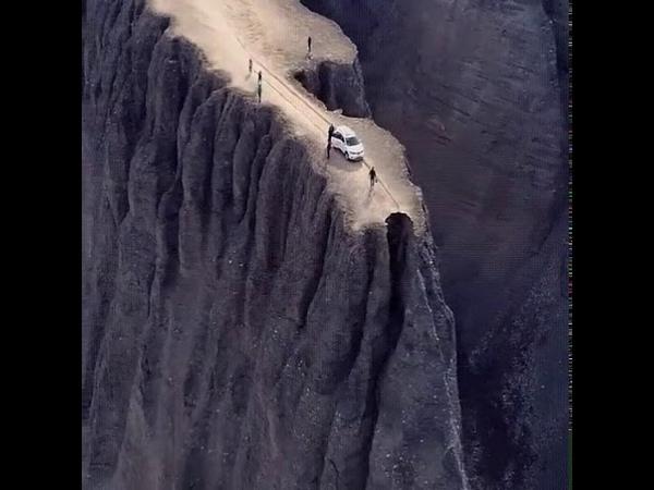 Так вот как выглядит край земли! Дух захватывает!