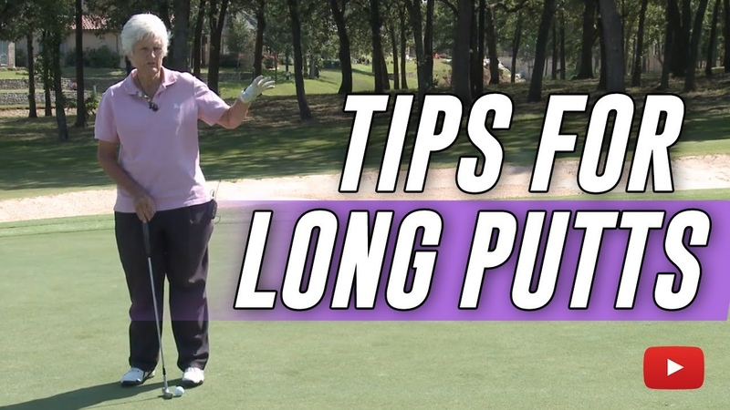 Golf Tips - Mastering the Long Putts - Kathy Whitworth (88 Career Wins)