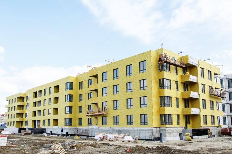 Отчет о ходе строительства апрель 2020 ЖК «Ожогино», изображение №1