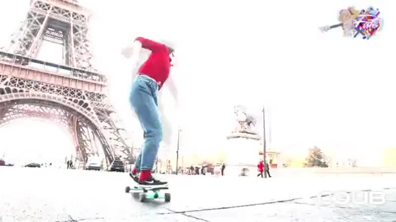 360° Paris Longboard Open Track Slip Away The Prototypes