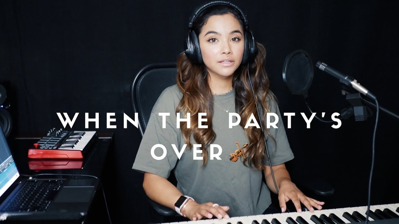 Natasha Carrasco and Marie Del Aguila When the Party's Over Billie Eilish cover