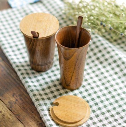 Деревянные стаканчики -