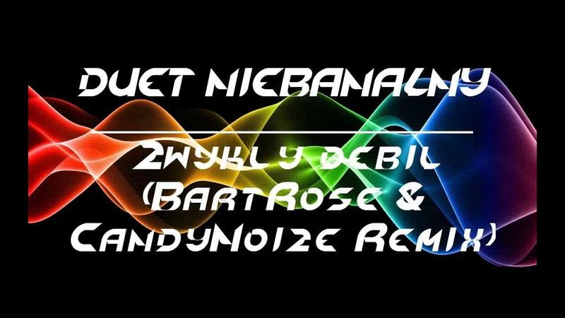DUET NIEBANALNY - Zwykły debil (BartRose CandyNoize Remix)
