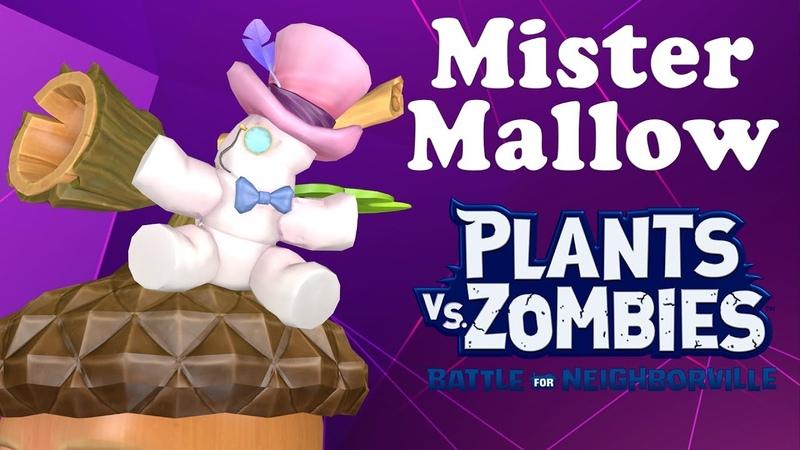 Mister Mallow (Universal Hat) Plants vs Zombies Battle for Neighborville