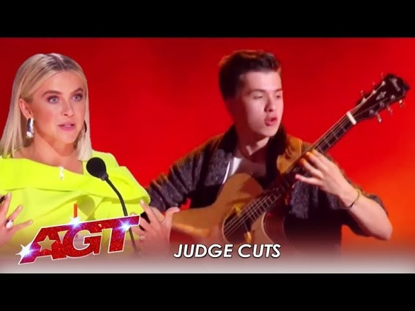 Marcin Patrzalek Julianne PREDICTS This Polish Guitarist May WIN America's Got Talent 2019