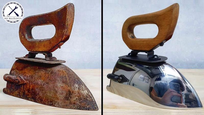 Antique Ox Tongue Iron Restoration