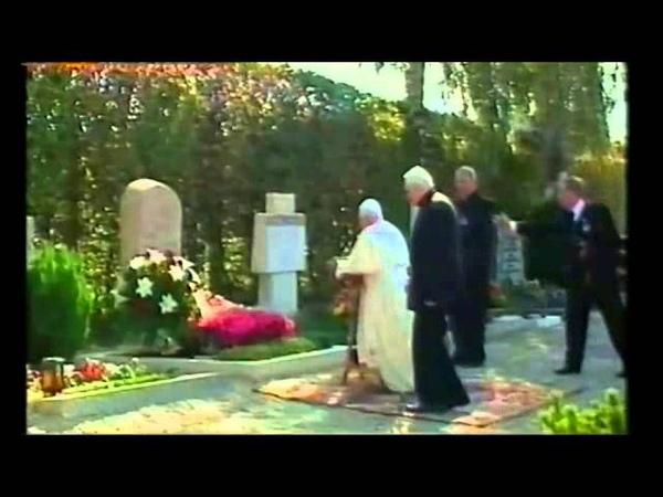 Benedetto XVI e il fratello Georg Ratzinger in Baviera nel 2006