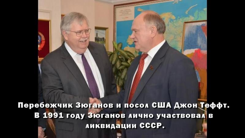 Как Зюганов, Власов, Немцов, Болдырев, Краснов, Грудинин, Тефт, Навальный, Чубайс продавали Россию.