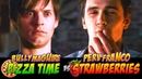 PIZZA TIME vs STRAWBERRIES | Bully Maguire and Perv Franco EPIC BATTLE