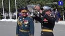 Замминистра обороны вручил Полковую чашу 810-й бригаде морской пехоты