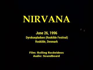 Nirvana - live at dyrskuepladsen, roskilde, denmark, 26.06.92 [full show]