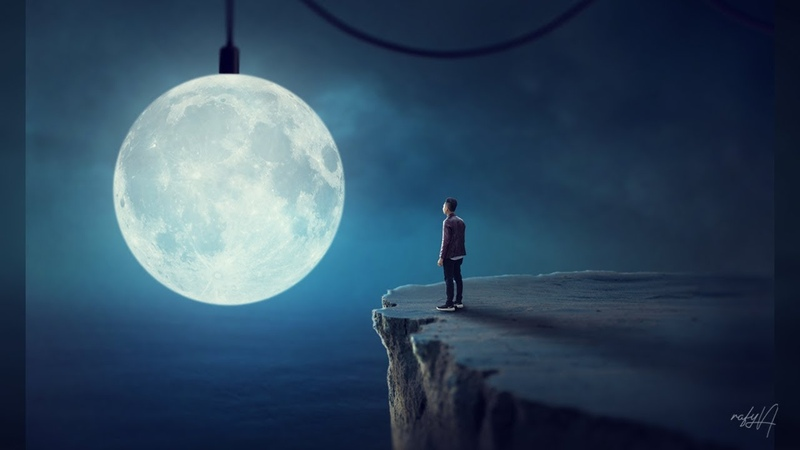 Making Of Surreal Moon Photo Manipulation Effect In Photoshop