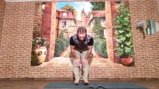 Лечебная разминка из Хатха йоги на каждый день (суставная гимнастика).