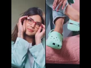 Video Crocs ad featuring priyanka chopra