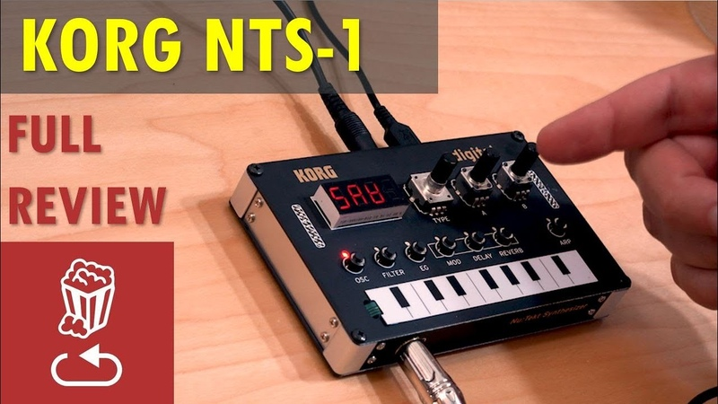 KORG NUTEKT NTS-1: Full review Here's everything it can do