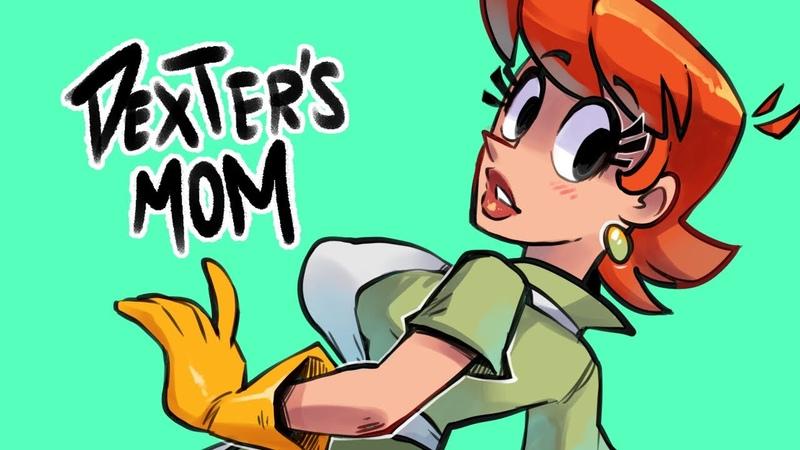 Dexter's Mom Speed Paint