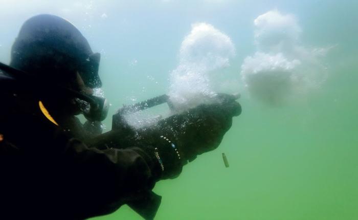 Можно ли спастись от выстрелов, нырнув в воду?