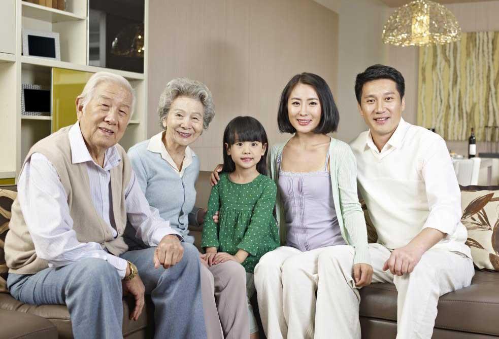 Семейные фотографии часто используются при создании фотоколлажа.