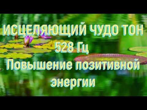 ИСЦЕЛЯЮЩИЙ ЧУДО ТОН 528Гц