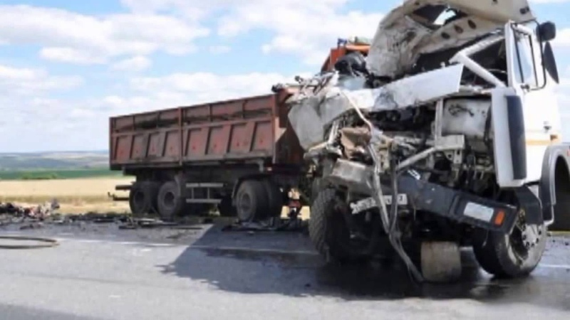 Аварии Грузовиков Подборка ДТП Дальнобойщики,фуры,ужастные аварии