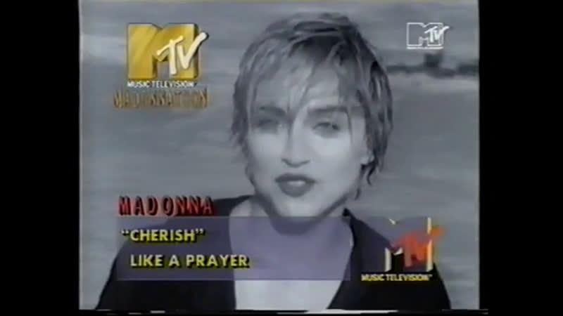 Madonna Cherish MTV Europe 1990