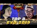SFV - EVO 2019 - TOP 8 feat. Machabo, Bonchan, Fujimura, iDom