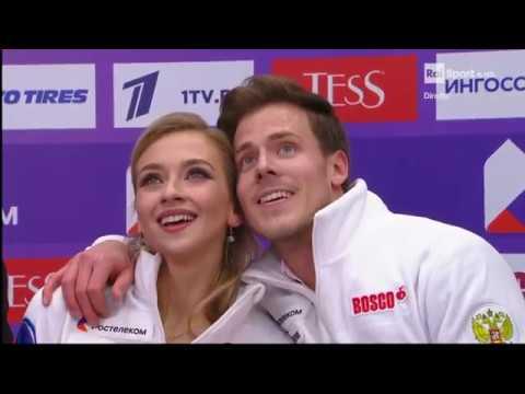 Видео Victoria SINITSINA Nikita KATSALAPOV RUS Rhythm Dance 2019 Rostelecom Cup Raisport смотреть онлайн