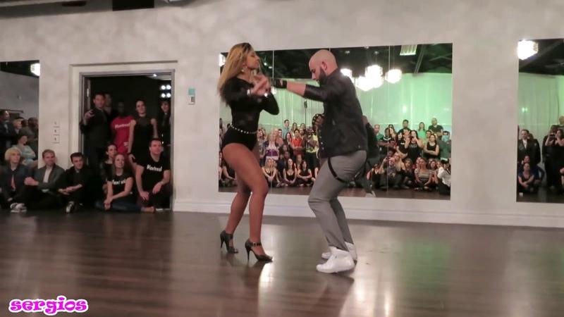 Танцуют потрясающие Жорж Атака и Таня Ла Алемана Милая минус
