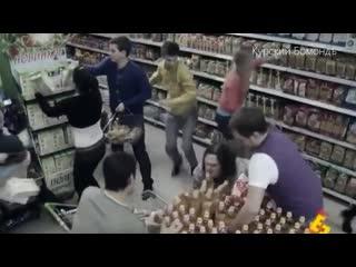 В супермаркетах Курска конец света