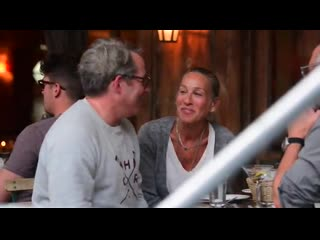 Сара Джессика Паркер и Мэттью Бродерик в Нью-Йорке