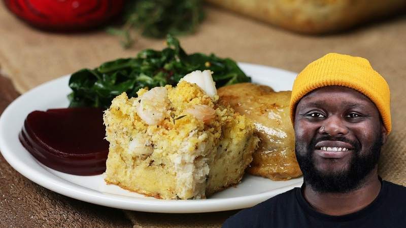Momma's Seafood Stuffing As Made By David Osei