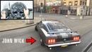 Forza Horizon 4 John Wick Ford Mustang 1969 BOSS (Steering Wheel Shifter) Gameplay