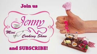 NEW 2020 Jenny's mini cooking Show Channel Trailer :) Mini food, mini cake, DIY, miniature