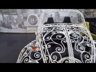 Volkswagen Classic  за кадром_ музей на Дизельштрассе