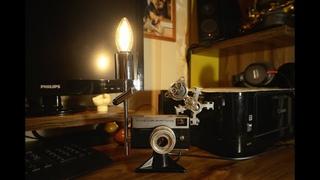 Настольный светильник для фотографа...