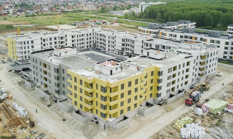Отчет о ходе строительства ЖК «Ожогино» май 2020, изображение №8