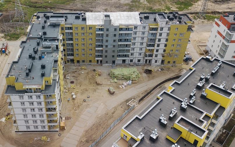 Отчет о ходе строительства ЖК «Апрель» май 2020, изображение №15