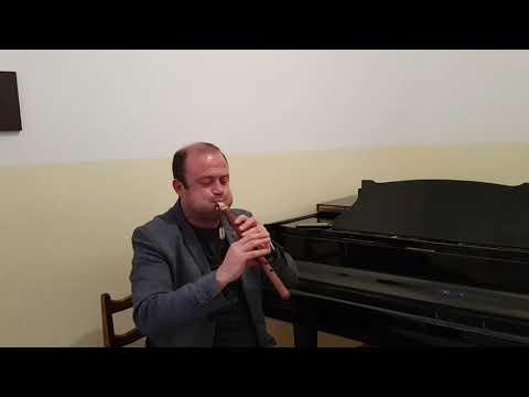 Armenian duduk in A by master Galstyan GGA Ara Mkoyan-Sareri hovin mernem