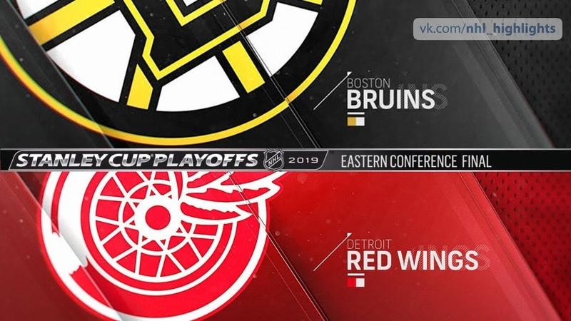 33-й сезон НХЛ. 3-й раунд. 12 Финала. Детройт(Кузнец) vs. Бостон(Билык) Game 1