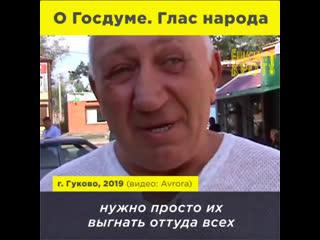 Народ о депутатах