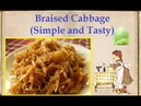 Braised Cabbage Simple and Tasty Book of recipes Bon Appetit