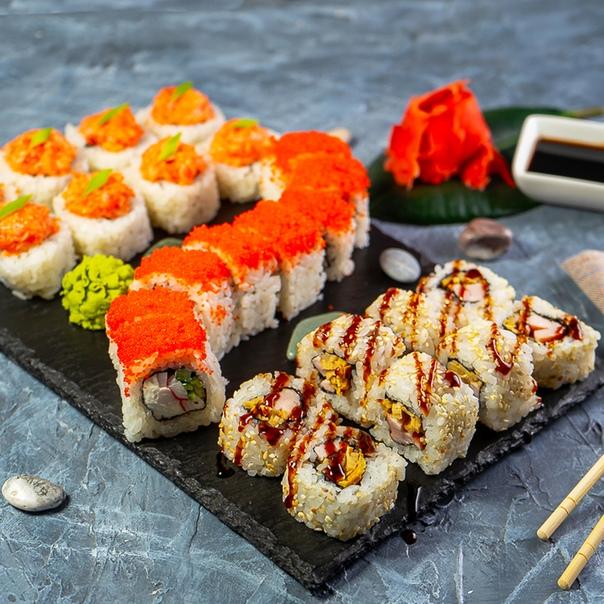 Вкусные и полезные суши