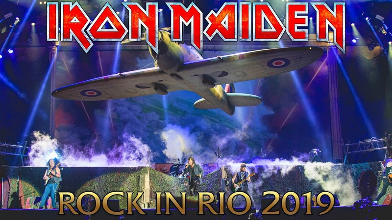 Iron Maiden - Rock in Rio 2019 (FULL UNCUT SHOW HD)