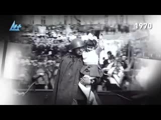Ретро-календарь. День Победы в Петрозаводске - вчера и сегодня