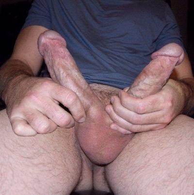 Man Two Dicks Porn