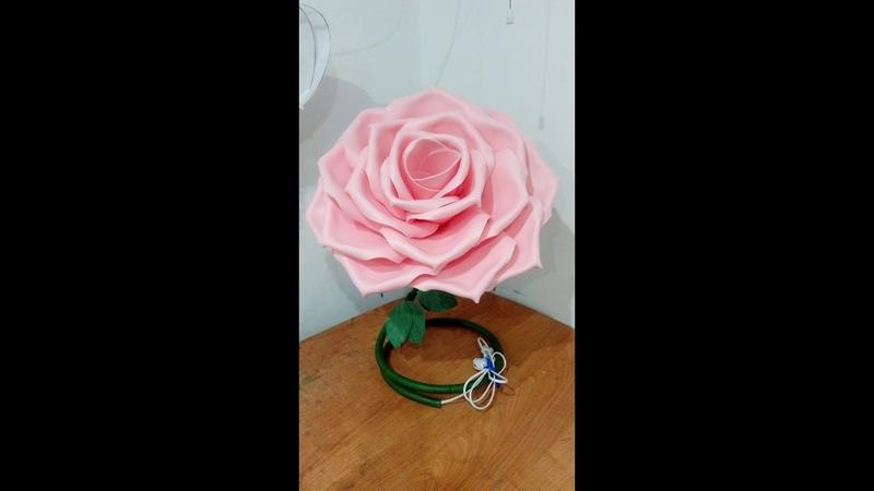 Бесплатный мастер класс Роза из изолона