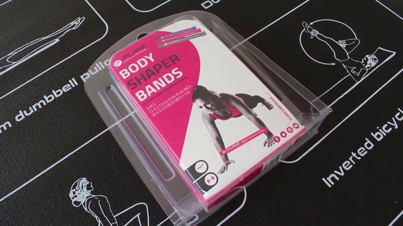 Мини эспандеры PURE2IMPROVE BODY SHAPER BANDS LADIES   Fitness-only.ru