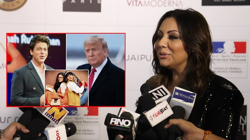 Shah Rukh Khan's wife Gauri Khan Wants Him To Make DDLJ 2 After Donald Trump Praised DDLJ